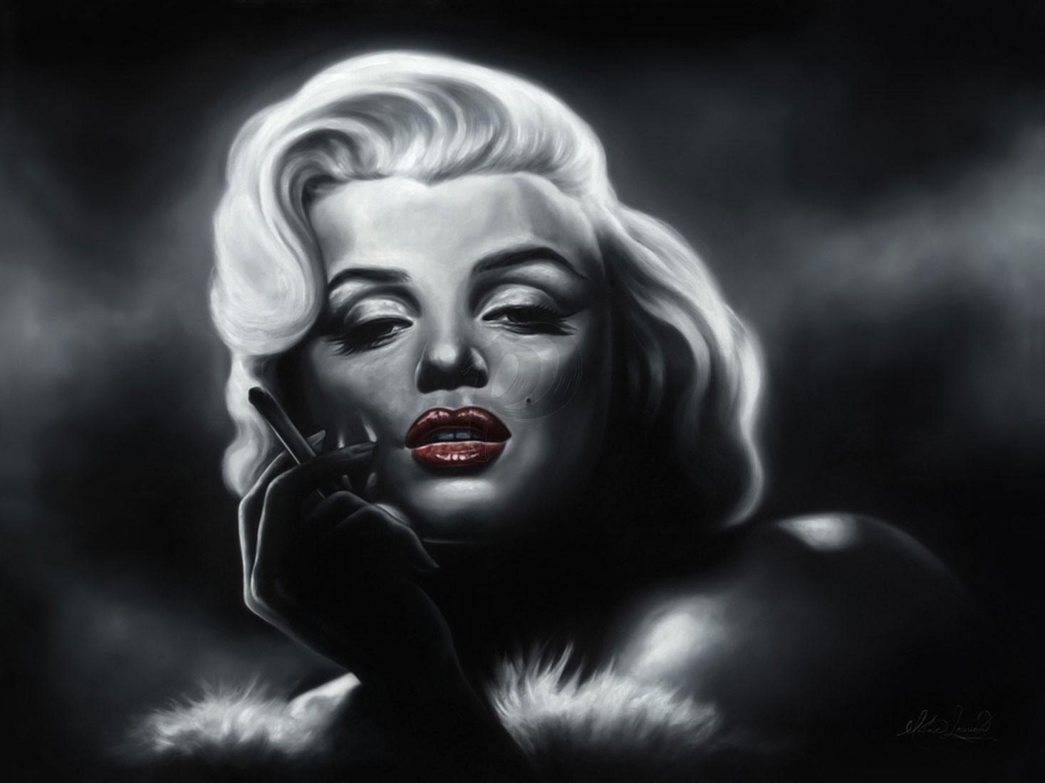 Matías Argudín - Marilyn Monroe (Hand-Painted Reproduction)