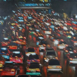 Traffic (Hand-Painted)