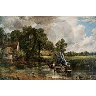 Banksy - Haywain With Cruise Missiles (Hand-Painted Reproduction)