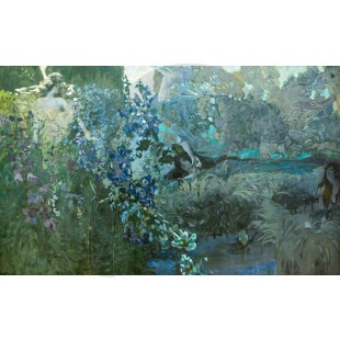 Mikhail Vrubel - Morning (Hand-Painted)