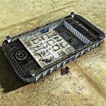 Banksy - Modern Prison (Hand-Painted Reproduction)