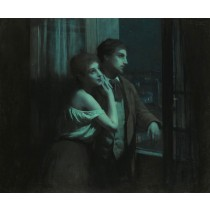 Charles Lenoir - Amable Reverie (Hand-Painted)