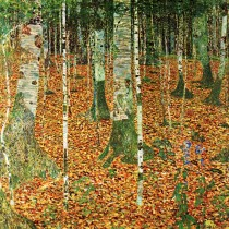 Gustav Klimt - The Birch Wood (Hand-Painted)