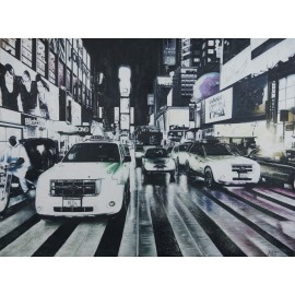 New York (Hand-Painted)