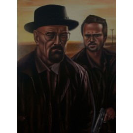 Breaking Bad - La Familia es Todo by Q. Hanh (Hand-Painted Original)