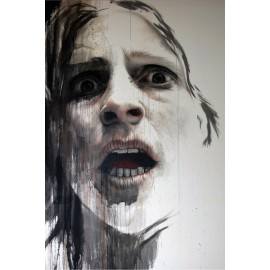 Annemarie Busschers - Scream (Hand-Painted Reproduction)