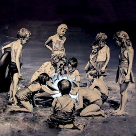 Banksy - Curiosity (Reproduction)