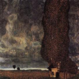 Gustav Klimt - A Gathering Storm (Hand-Painted)