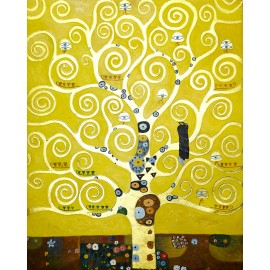 Gustav Klimt - Tree of Life (Hand-Painted)