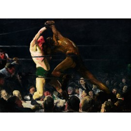 George Bellows - Both Members of This Club (Hand-Painted)