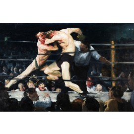 George Bellows - Stag at Sharkeys (Hand-Painted)