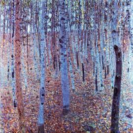 Gustav - Klimt Beech Forest (Hand-Painted)