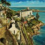 Gerard Byrne - Sorrento Terrace Dalkey Ireland (Hand-Painted Reproduction)
