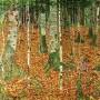 Gustav Klimt - The Birch Wood (Hand-Painted)