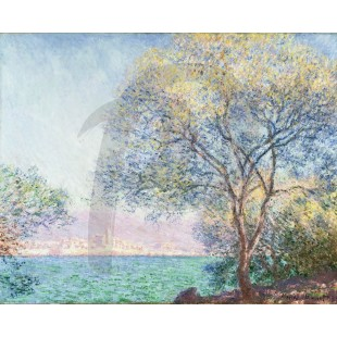 Claude Monet - Antibes in the Morning 1888 (Hand-Painted)