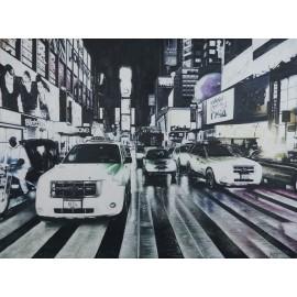 New York (Hand-Painted)