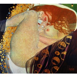 Gustav Klimt - Danae (Hand-Painted)
