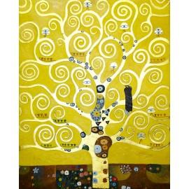 Gustav Klimt - Tree of Life (Hand-Painted)