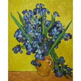 Vincent Van Gogh - Irises  (Hand-Painted)