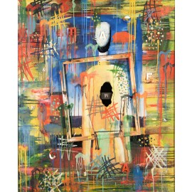 Alexey Kuripko - The Composition of Number 17 (Hand-Painted Reproduction)