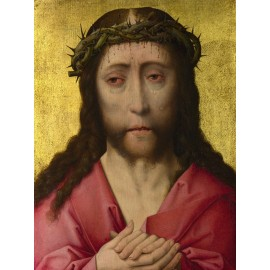 Dirk Bouts - Christ Crowned with Thorns (Hand-Painted)