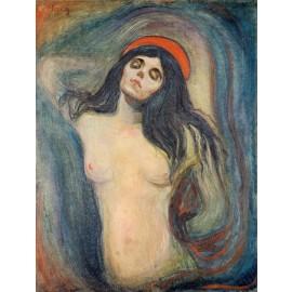 Edvard Munch - Madonna (Hand-Painted)
