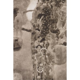 Gustav Klimt - Medizin 1901 to 1907 (Hand-Painted)