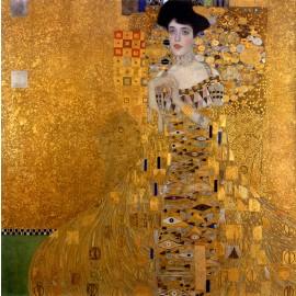 Gustav Klimt - Portrait of Adele Bloch Bauer (Hand-Painted)