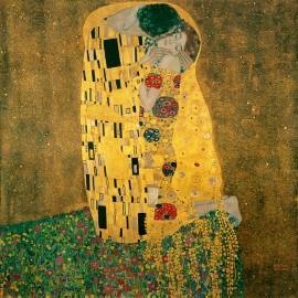 Gustav Klimt - The Kiss (Hand-Painted)