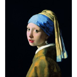 Johannes Vermeer - Girl with a Pearl Earring (Hand-Painted)