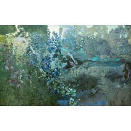 Mikhail Vrubel - Morning (Hand-Painted)